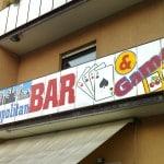 Cartello Bar
