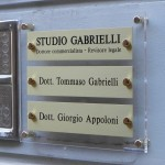 Targa studio commercialisti